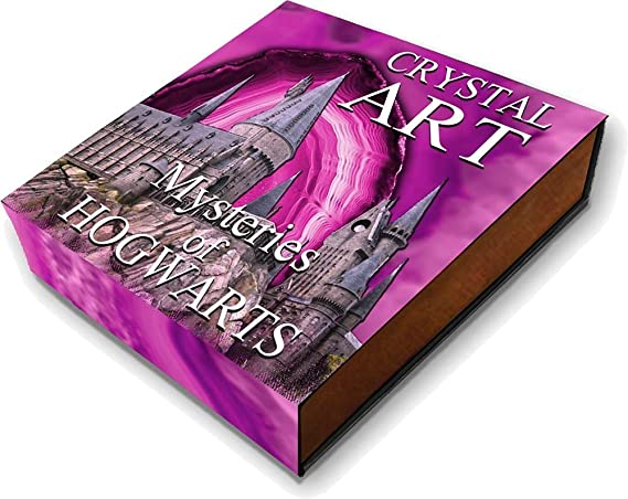 Crystal Art Iv Mysteries Of Hogwarts Special Buy 2 $ 2015 Niue Island