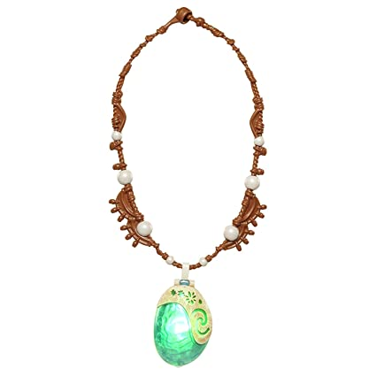 Reasonable Moana Necklace Costume Cosplay Props Princess Heart Of Te Fiti Necklaces Pendant Costumes & Accessories