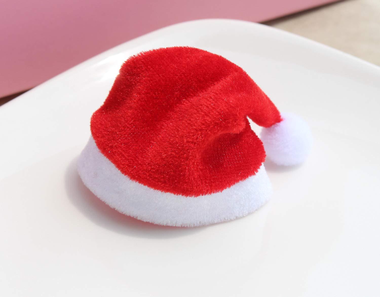 d955363d6d789 Amazon.com  JuSir Mini Christmas Santa Hats for Cup