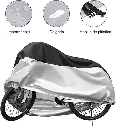 GHB Funda Bicicleta 190T para Resistente al Agua a Prueba de UV ...