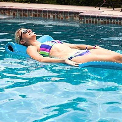 Serenity Pool Mat Color: Marina Blue