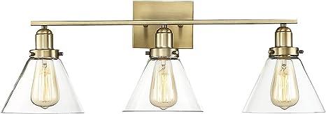 Savoy House Lighting 8-4030-3-322 Octave Bathroom Vanity Light Warm Brass