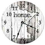 Cheap Sugar Vine Art MINNESOTA STATE HOME CLOCK Black and White Rustic Clock – Large 10.5″ Wall Clock