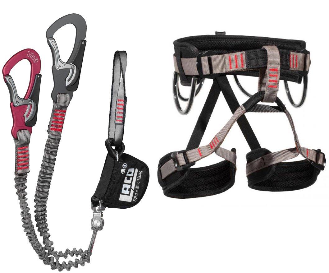 Klettersteig Set Gurt : Klettersteigset lacd comfort start gurt s amazon