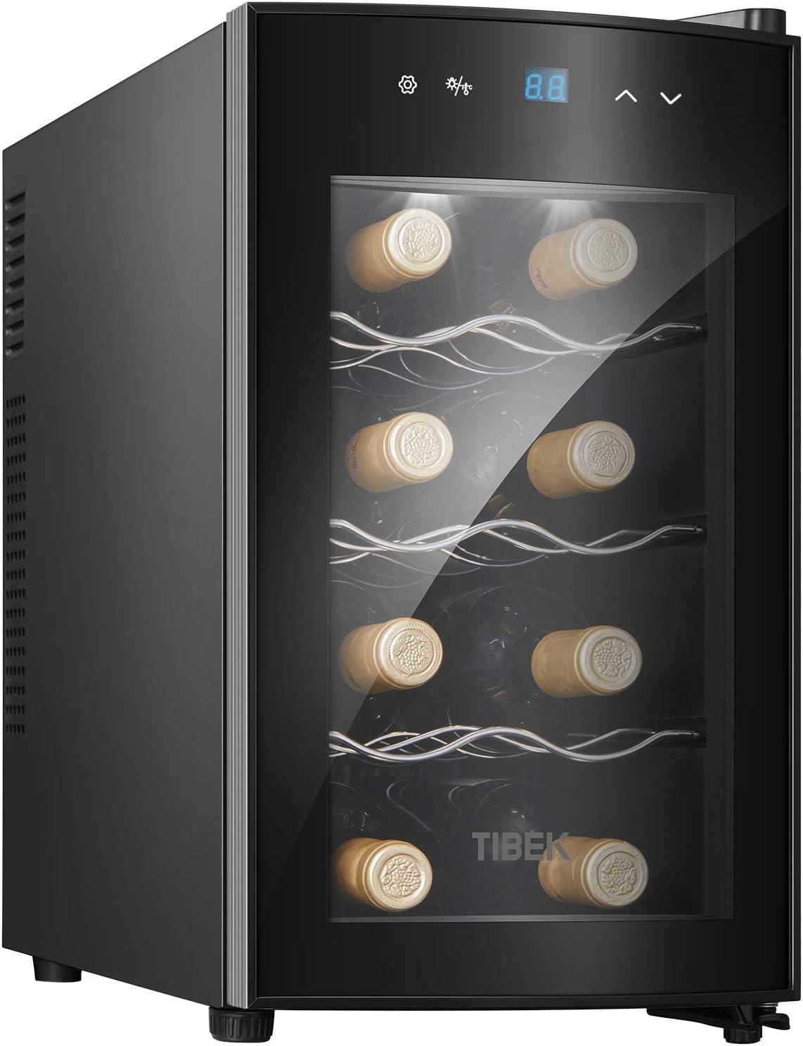 Caves de vino 8 botellas asa ergonómica: Amazon.es: Grandes ...