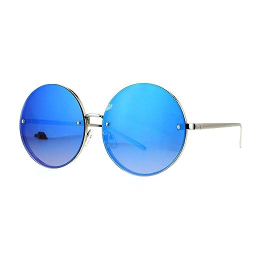 Amazon.com: Super gran tamaño anteojos de sol redondas para ...