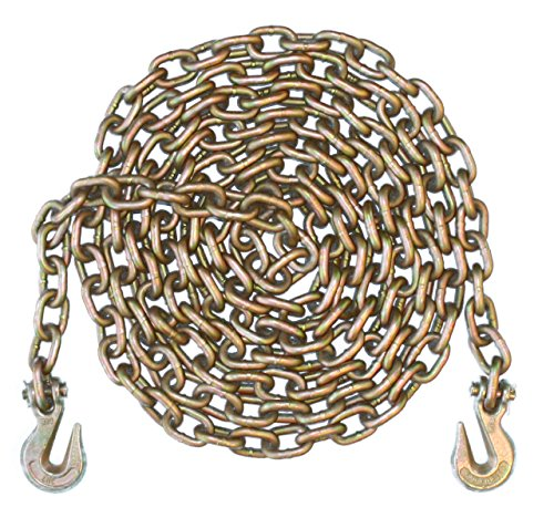 5/16'' - Grade 70 Binder Chain - Grab Hooks - 20' Length by Advantage Rigging