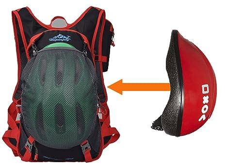 con un Paquete de Tel/éfono M/óvil Multifunci/ón NEWZCERS 20L Unisex Mochila de Nylon Impermeable Mochila de Casco de Bicicleta Pack de Montar al Aire libre Bolso de Ciclo