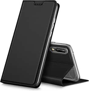 KuGi Xiaomi Mi 8 SE Case, Premium Flip Case cover for Xiaomi Mi 8 SE, Black