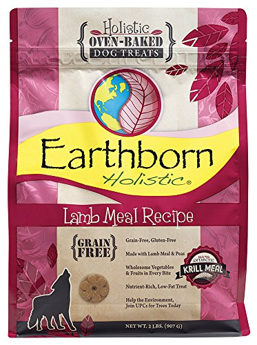 Earthborn Holistic Grain Free Lamb Biscuit, 2 lb