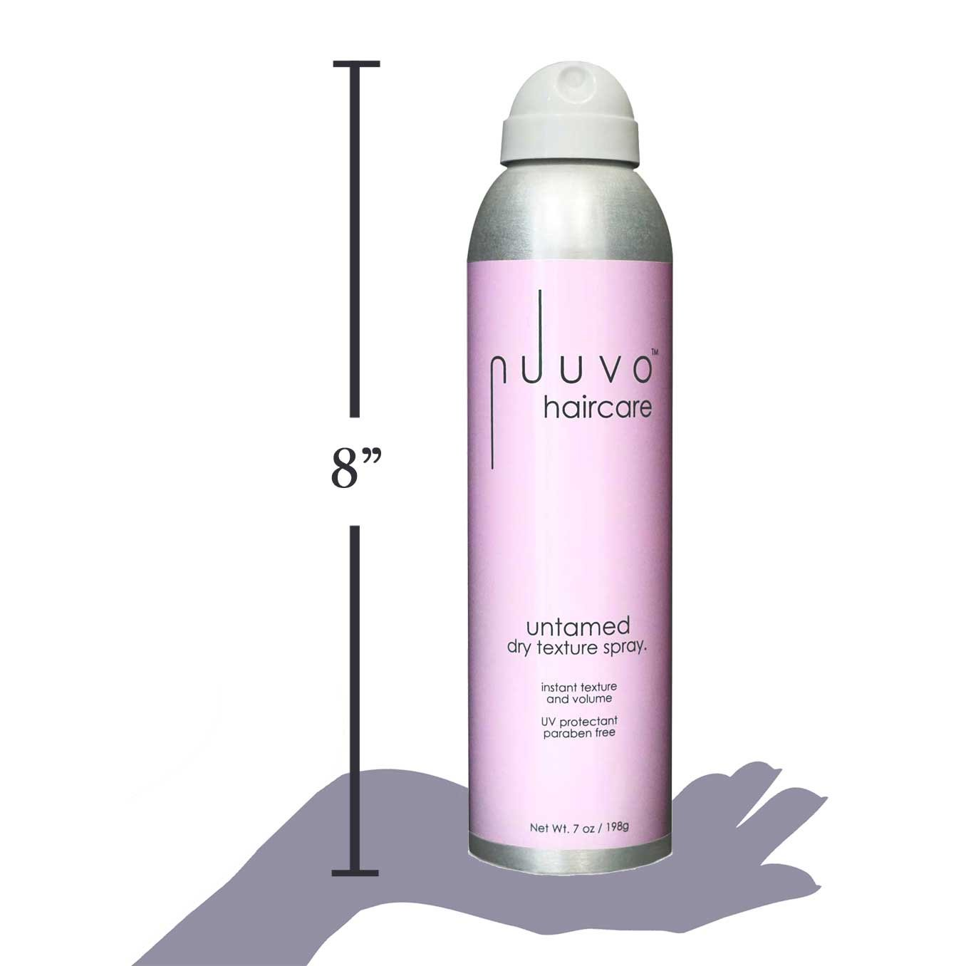 Amazon.com: Untamed Spray para texturizar seco por nuuvo ...