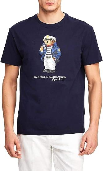 Polo Ralph Lauren Camiseta Polo Bear Marino Hombre S Marino ...