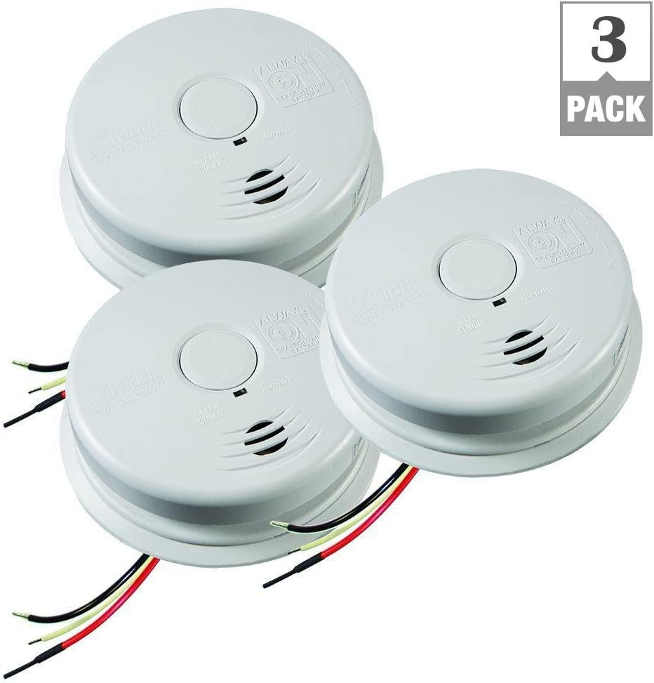 Kidde I12010s Smoke Alarm Worry 120-volt Hardwired Inter-connectable
