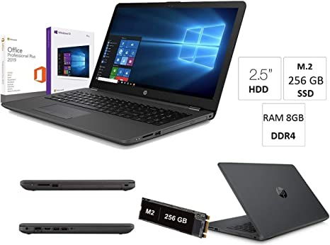 Portátil PC portátil HP 255 G7 hasta 2.6 GHz Pantalla 15.6
