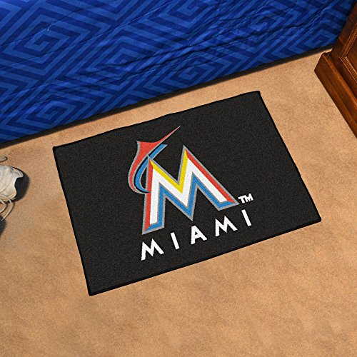 - Fan Mats Florida Marlins Starter Rug, 20
