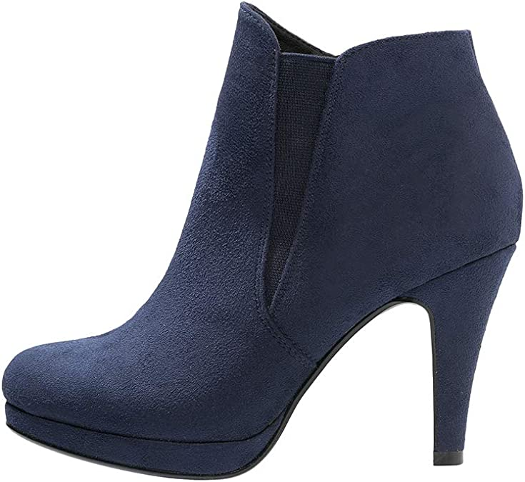 Tamaris Damen Stiefelette Stiefel Chelsea Boots Winterschuhe Absatzschuhe Schuhe