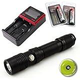 スルーナイト ThruNite TN12 LED フラッシュライト(電池含まず) Cree XP-L V6 LED Max1100 ルーメン 五段階切替 使用電池 CR123A電池×2 or 18650電池×1