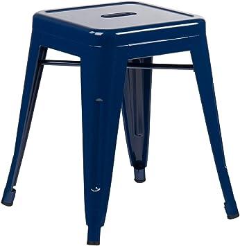 Image ofSKLUM Taburete LIX Acero Azul Marino - (Elige Color)