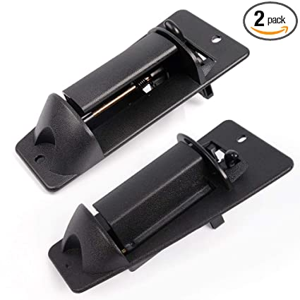 Fit For 1999-2007 Chevy Silverado GMC Sierra 1500 Exterior Door Handle  Replacement Pair Metal Upgraded Fits Rear Left Driver's and Right  Passenger's