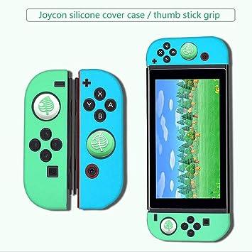 Elyco Funda Protectora para Nintendo Switch, Silicone Grip Case Protector Case Funda Protectora Grip Funda de Agarre Compatible con Switch JoyCon Controller: Amazon.es: Electrónica