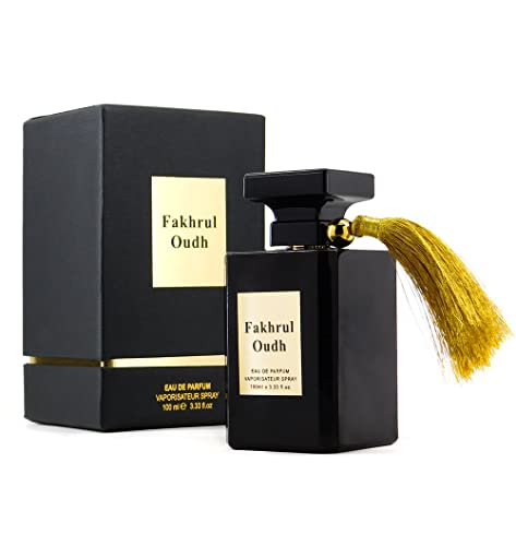 Fakhrul Oudh - Oud Fragrance - Wood Scent Spray for Men by Al Aneeq Perfumes (100 Milliliter Eau de Parfum)