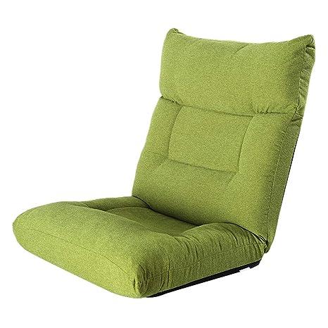 Lazy Sofá Plegable Sofá de Piso, Respaldo Cómodo Hogar ...