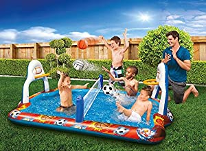 Kiddie Pool Water Sports Arena Activity Splash