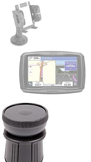 Soporte fijación portavasos coche para GPS Garmin Drive 40lm se/40 lm, Garmin Zumo 395 lm, TomTom Rider 400 - Base ajustable - por DURAGADGET: Amazon.es: ...