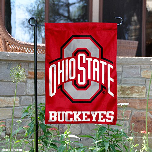 College Flags and Banners Co. Ohio State Buckeyes Garden Fla