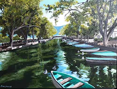 Canal in Annecy France