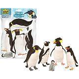 Wild Republic 83724 - Busta con animali, Pinguino, confezione da 5