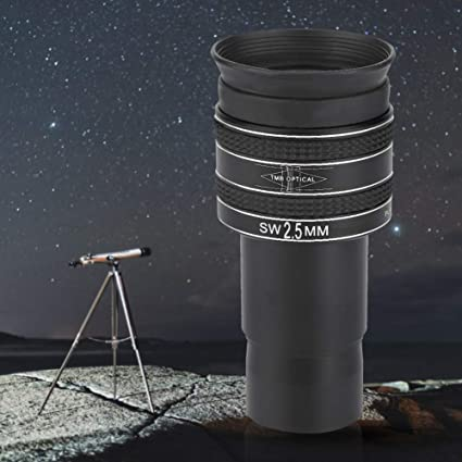 Xinwoer Monocular Telescope 1.25inch TMB 3.2mm 58 Degree HD Planetary Eyepiece for Astronomical Telescope,for Observe Planets Moon,Jupiter