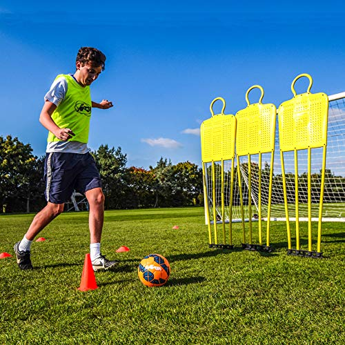 (Net World Sports FORZA Soccer Free-Kick Mannequins | Coaching Dummies for Juniors and Seniors (Junior, Pack of 1) )