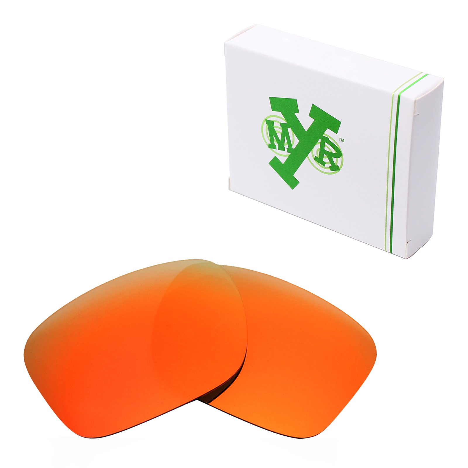 Mryok Polarized Replacement Lenses for Oakley Holbrook - Fire Red by Mryok