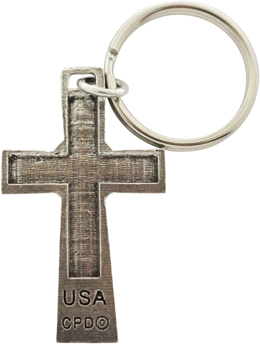 Celtic Cross Pewter Keychain A1024KC