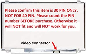 "HP 15-F233WM 15-F272WM LCD Screen Replacement for 15.6"" New LED Display 30 Pin"