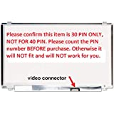 """HP 15-F233WM 15-F272WM LCD Screen Replacement for 15.6"""" New LED Display 30 Pin"""