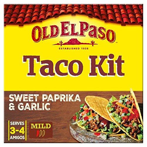 Old El Paso Crunchy Taco Kit de ajo y pimentón 308g: Amazon.es: Alimentación y bebidas