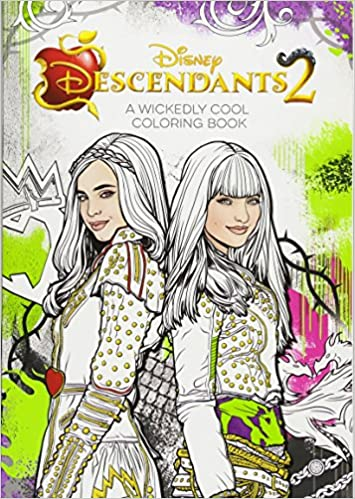 Descendants 2 A Wickedly Cool Coloring Book (Art of Coloring ...