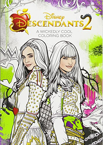 Descendants 2 A Wickedly Cool Coloring Book (Art of Coloring) -