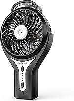 OPOLAR Handheld Personal Water Misting Fan for Travel, Portable Rechargeable Fan