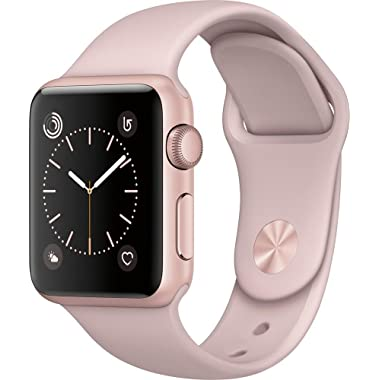 Apple Watch Series 2 42mm Rose Gold Aluminum Case Pink Sand Sport Band Rose Gold Aluminum MQ142LL/A