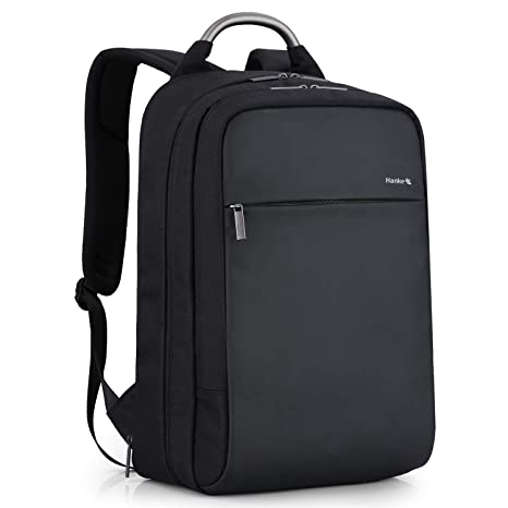 861b24e817 Hanke Slim Travel Laptop Backpack, Expandable Water Resistant Business  Computer Backpack, Anti-Theft