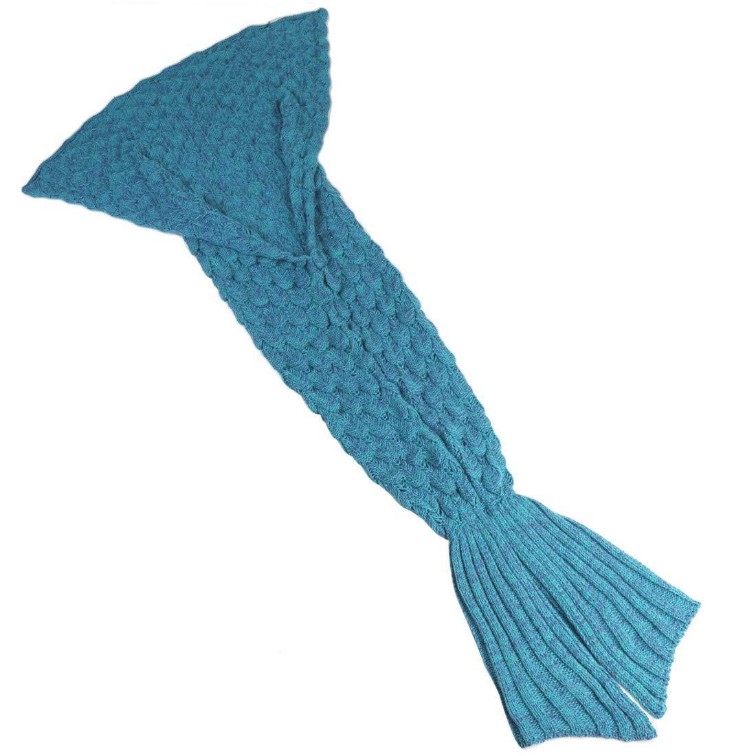 Manta de Cola de Sirena por YOWAO, Escamas de Pescado Patrón Suave ...