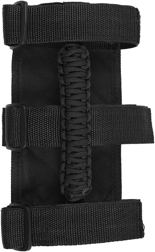 Black Interior Accessories Savadicar 4 x Roll Bar Grab Handles Grip Handle for Jeep Wrangler YJ TJ JK JL /& Gladiator JT 1955-2020