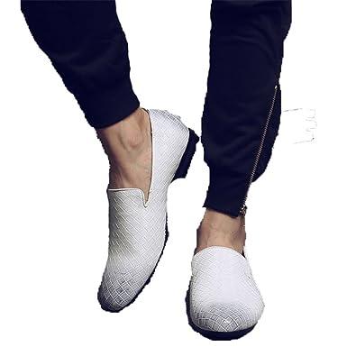 Amazon.com: Anghuluqub 2018 Zapatos de hombre de lujo marca ...