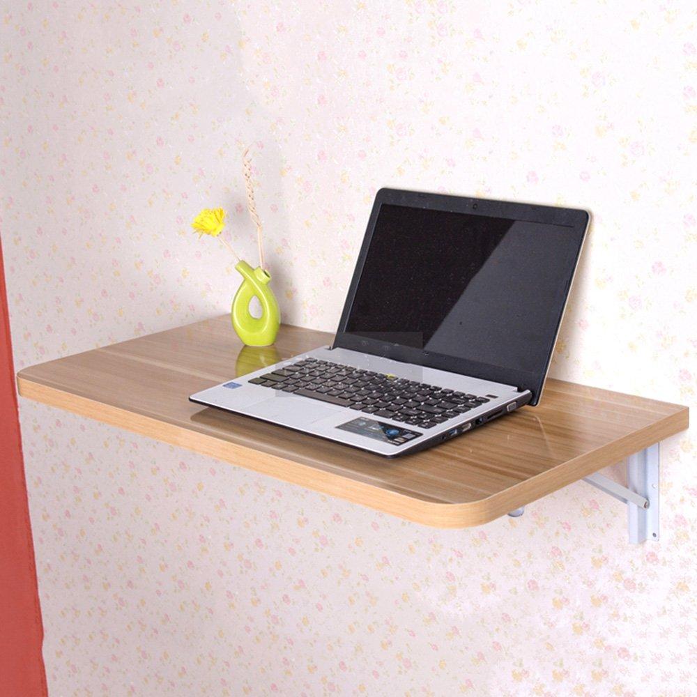 ZZHF 折りたたみテーブル小型コンピュータデスク壁掛けデスクノートブックデスク5色利用可能サイズオプション デスク ( 色 : E , サイズ さいず : 80*40cm ) B078WJHMPQ 80*40cm E E 80*40cm