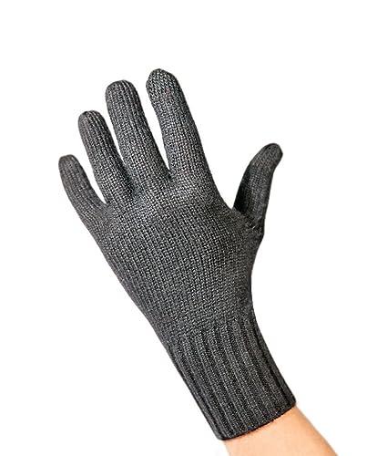 Guantes de Punto Invierno para Pantallas Táctiles 100% de cachemira (S - XL)