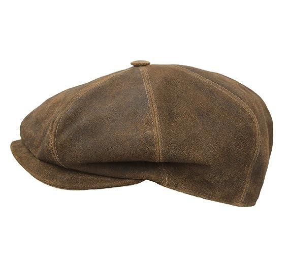 Classic Italy - Boinas - gorra plana cuero hombre Classic Marseillaise Cuir   Amazon.es  Ropa y accesorios 457928ef3bb