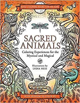 Amazon.com: Sacred Animals (Coloring Books for the Soul ...